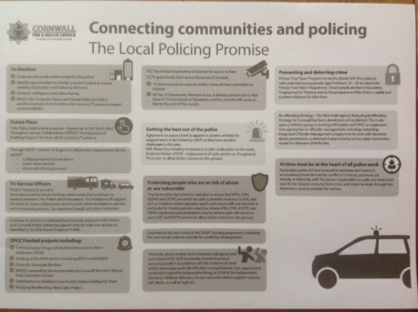 Community Safety & Policing in Cornwall 2017